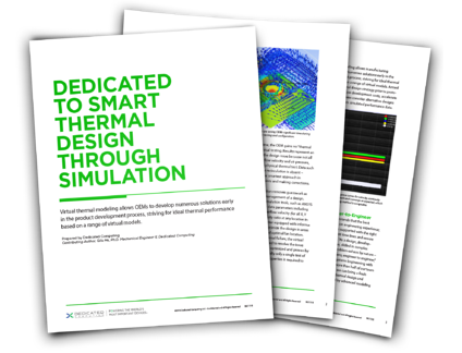 Reduce Your Time-to-Market with Thermal Intelligence