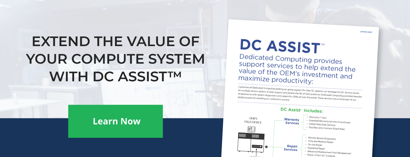 Extend the Value of Your Compute System with DC Assist